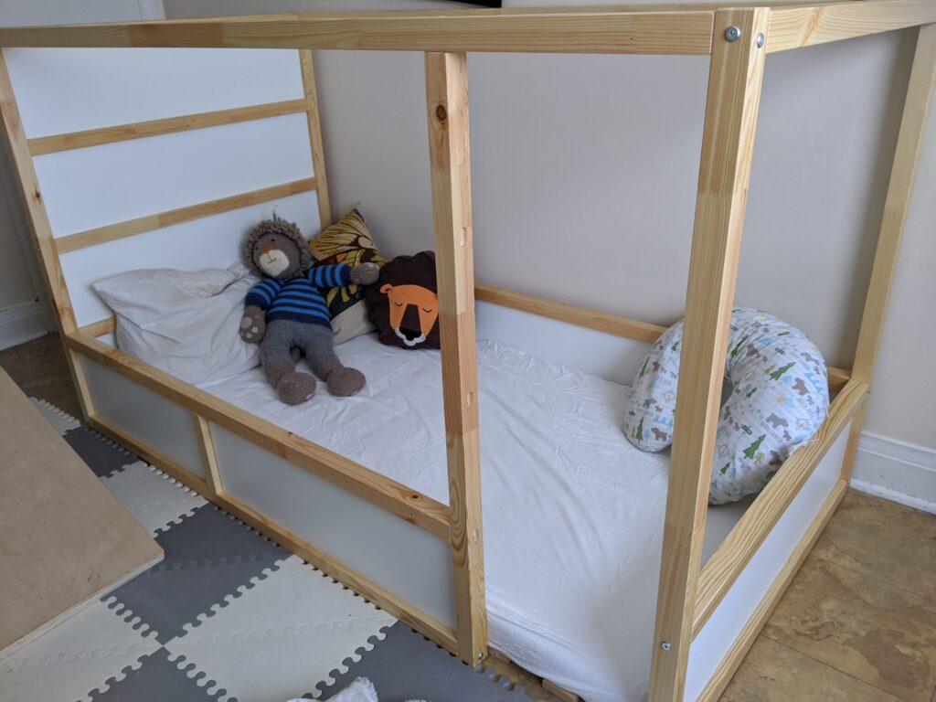 IKEA Kura hack floor bed
